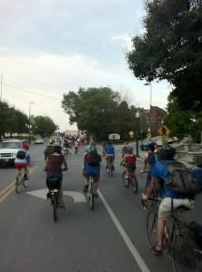 Riding on Westport Road